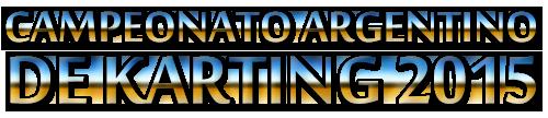 Campeonato Argentino de Karting